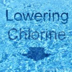 How to lower swimming pool chlorine