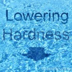 How to lower swimming pool calcium hardness