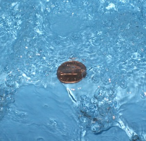 copper in swimming pool water