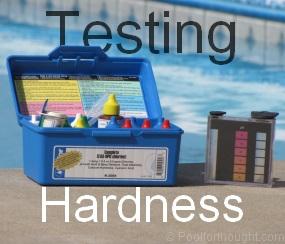 testing swimming pool total hardness