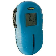 Testing Swimming Pool PH With An Electronic PH Tester