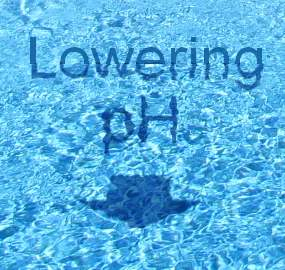 how to lower swimming pool ph