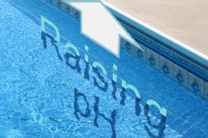 how to raise swimming pool ph