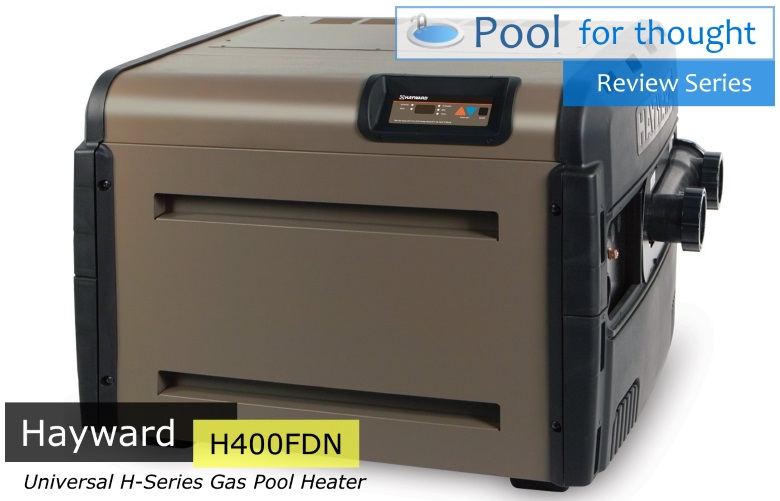 Hayward H400FDN Universal H Series Low NOx Natural Gas Swimming Pool Heater